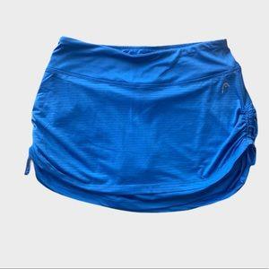 NWOT Tennis Atheltic Skirt Skort Blue Head
